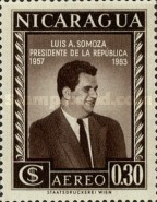 [Airmail - Election of President Luis A. Somoza, Typ TT2]