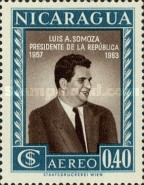 [Airmail - Election of President Luis A. Somoza, Typ TT3]