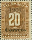 [Postal Due Stamps Surcharged