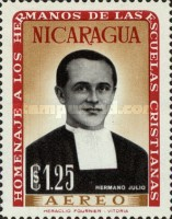 [Airmail - Brothers of the Nicaraguan Christian Schools Commemoration and Hl. Jean Baptist De La Salle, Typ VC1]