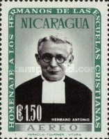 [Airmail - Brothers of the Nicaraguan Christian Schools Commemoration and Hl. Jean Baptist De La Salle, Typ VD1]