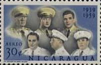 [Airmail - The 20th Anniversary of Nicaraguan Military Academy, Typ WZ]