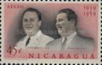 [Airmail - The 20th Anniversary of Nicaraguan Military Academy, Typ XC]