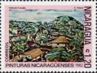 [Airmail - Nicaraguan Paintings, Typ XDW]