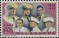 [Airmail - The 20th Anniversary of Nicaraguan Military Academy, Typ XF]