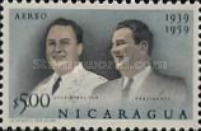[Airmail - The 20th Anniversary of Nicaraguan Military Academy, Typ XI]