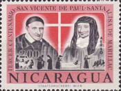 [Airmail - The 300th Anniversary of the Death of St. Vincent de Paul and St. Louise de Marillac, Typ ZM]