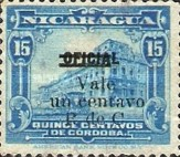 [Official Stamps of 1915 Overprinted, Typ A4]