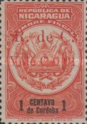 [Revenue Stamps Overprinted in Red, Typ B]