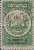 [Revenue Stamps Overprinted in Red, Typ B1]