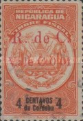 [Revenue Stamps Overprinted in Red, Typ B2]