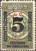 [Telegraph Stamps Overprinted
