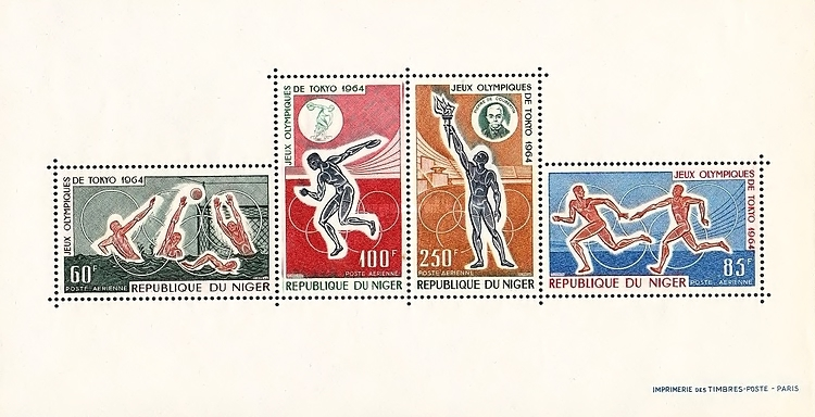 [Airmail - Olympic Games - Tokyo, Japan, Typ ]
