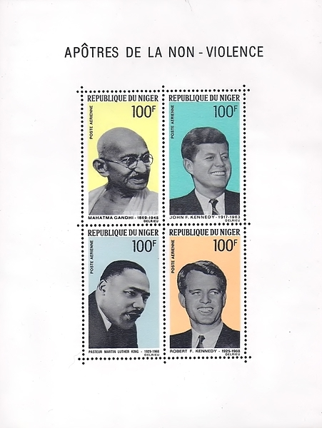 [Airmail - Apostles of Non-Violence, type ]