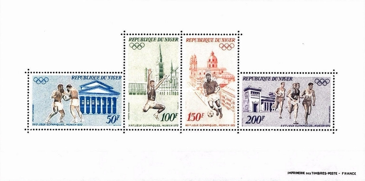 [Airmail - Olympic Games - Munich, Germany, type ]