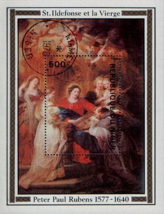 [The 400th Anniversary of the Birth of Peter Paul Rubens, 1577-1640, Typ ]