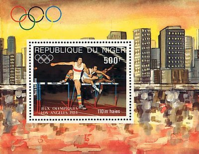 [Airmail - Olympic Games - Los Angeles, USA, Typ ]
