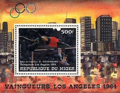 [Airmail - Olympic Games - Los Angeles, USA - Medal Winners, Typ ]