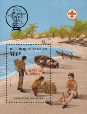 [Stamp Exhibitions of the Year 1985, Typ ]
