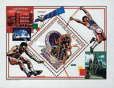 [Airmail - Olympic Games - Barcelona 1992, Spain, Typ ]