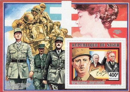 [The 25th Anniversary of the Death of Charles de Gaulle, 1890-1970, Typ ]