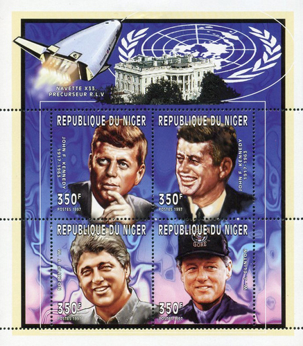 [The 80th Anniversary of the Birth of John F. Kennedy, 1917-1963, Typ ]