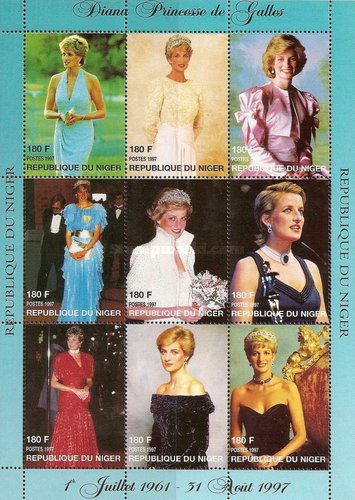 [Princess Diana Commemoration, 1961-1997, Typ ]