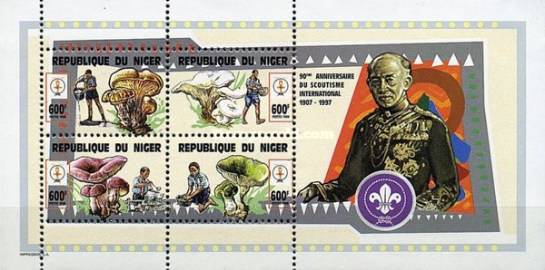 [The 90th Anniversary of Scouting - Nature Study, Typ ]