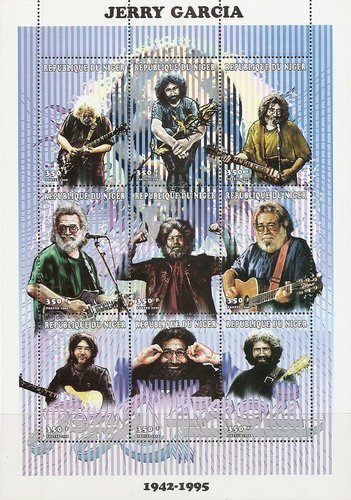 [The 3rd Anniversary of the Death of Jerry Garcia, 1942-1995, Typ ]