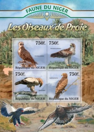 [Fauna of Niger - Birds of Prey, type ]