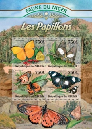 [Fauna of Niger - Butterflies, Typ ]