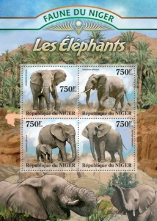 [Fauna of Niger - Elephants, type ]