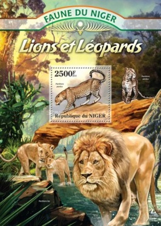 [Fauna of Niger - Leopards and Lions, Typ ]
