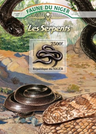 [Fauna of Niger - Snakes, type ]
