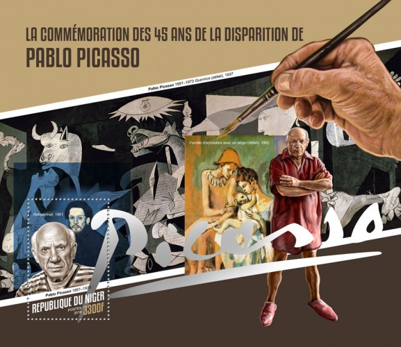 [The 45th Anniversary of the Death of Pablo Picasso, 1881-1973, type ]