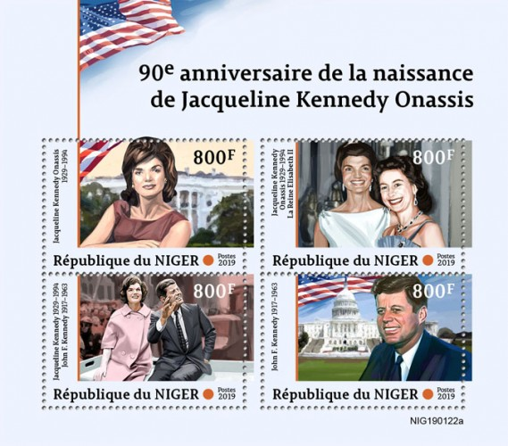 [The 90th Anniversary of the Birth of Jacqueline Kennedy Onassis, 1929-1994, type ]
