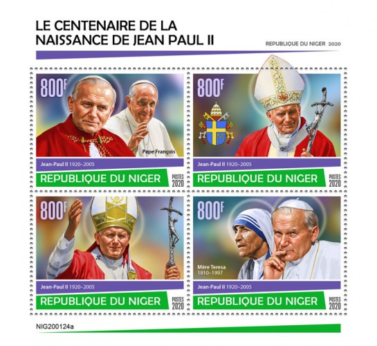 [The 100th Anniversary of the Birth of John Paul II, 1920-2005, type ]