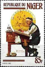 [Paintings of Norman Rockwell, Typ ABK]