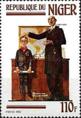 [Paintings of Norman Rockwell, Typ ABL]