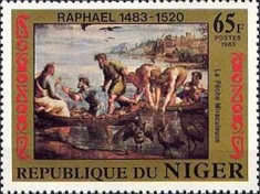 [The 500th Anniversary of the Birth of Raphael, 1483-1520, type ACC]