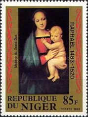 [The 500th Anniversary of the Birth of Raphael, 1483-1520, type ACD]