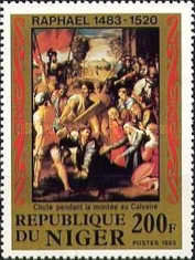 [The 500th Anniversary of the Birth of Raphael, 1483-1520, type ACG]