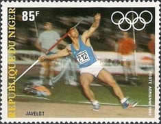 [Airmail - Olympic Games - Los Angeles 1984, USA, type ACN]