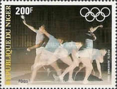 [Airmail - Olympic Games - Los Angeles 1984, USA, type ACO]