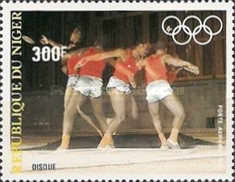 [Airmail - Olympic Games - Los Angeles 1984, USA, type ACQ]