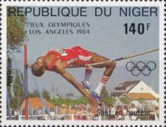 [Airmail - Olympic Games - Los Angeles, USA, Typ ADT]