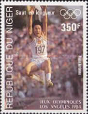 [Airmail - Olympic Games - Los Angeles, USA, Typ ADV]