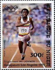 [Airmail - Olympic Games - Los Angeles, USA - Medal Winners, Typ AER]