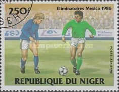 [Airmail - Football World Cup - Mexico 1986 - Preliminary Rounds, Typ AEW]