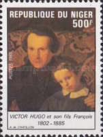 [The 100th Anniversary of the Death of Victor Hugo, 1802-1885, Typ AFT]